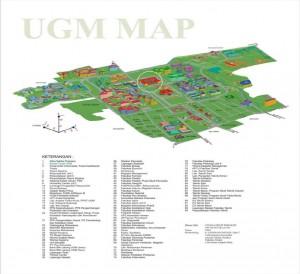 map UGM Yogyakarta