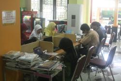 pengunjung perpustakaan yogyakarta