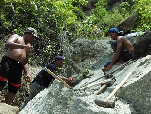 Wilayah Prambanan,  Sleman, longsor prambanan
