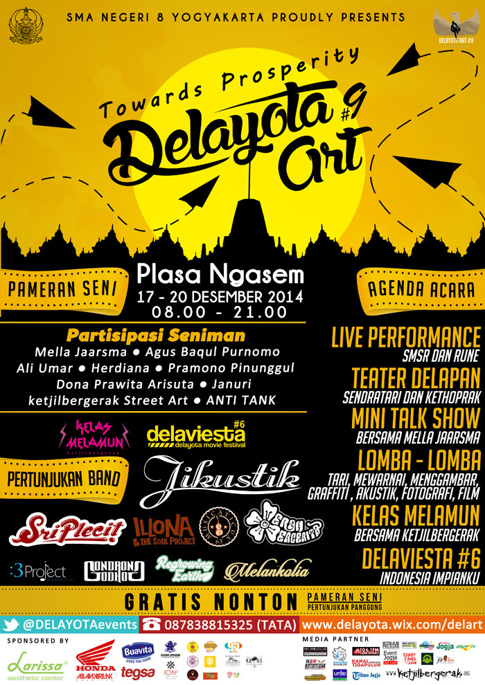 Delayota Art Towards Prosperity 2014