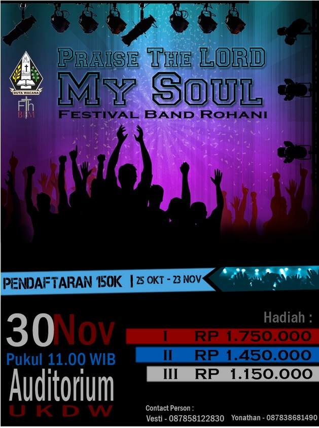 Festival Band Rohani 2014 Praise The Lord My Soul