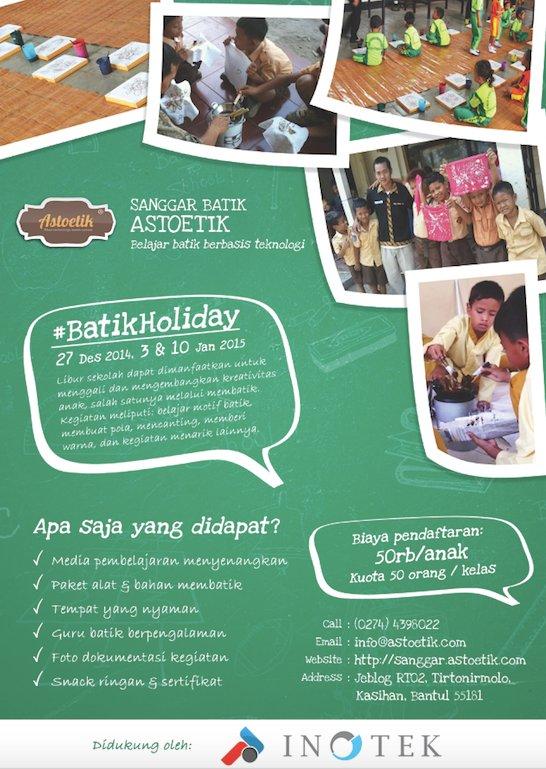 batik holiday kids