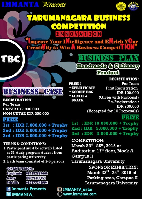 Tarumanagara Business Competition
