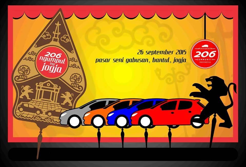 Gathering Nasional 206Comm Indonesia - Ngumpul Ing Jogja