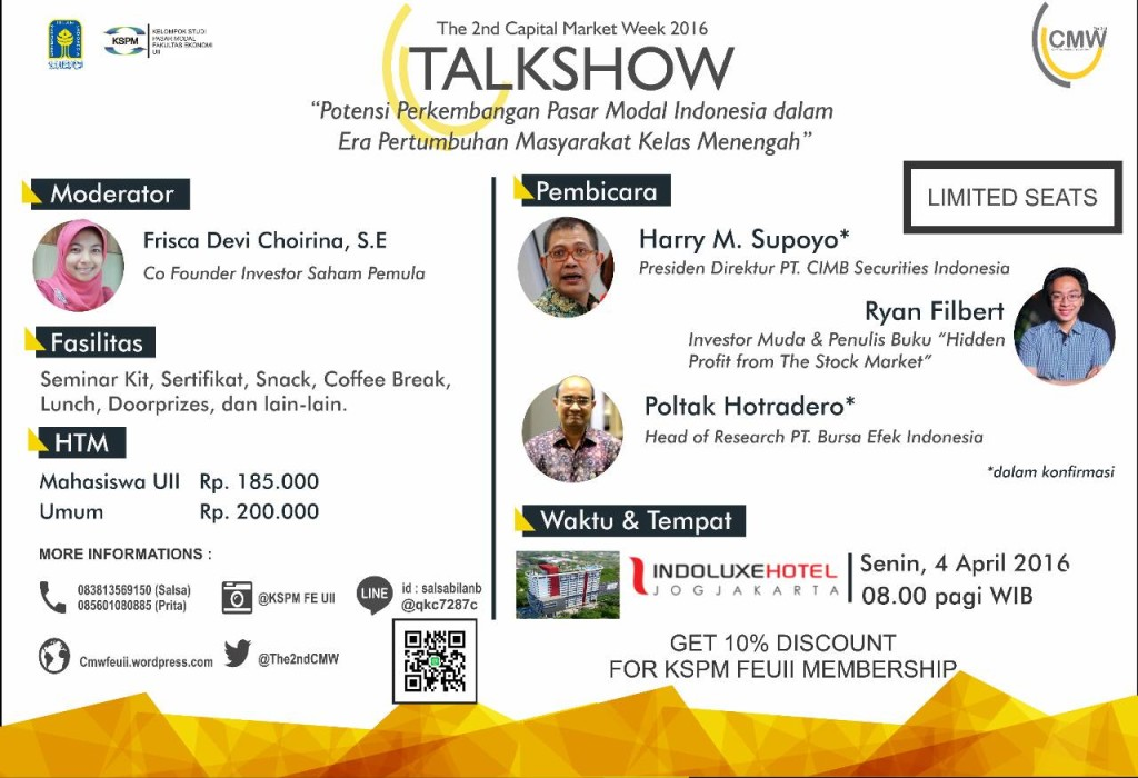 THE 2nd CAPITAL MARKET WEEK TALKSHOW
