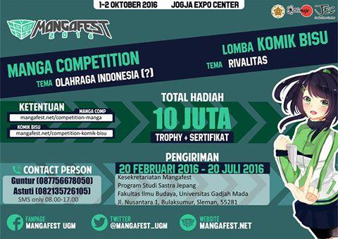 Mangafest MANGA COMPETITION & LOMBA KOMIK BISU