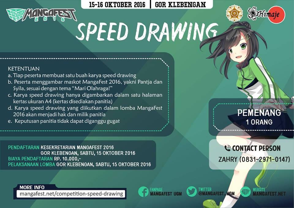 mangafest speed drawing