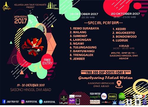 Jawa Timur Festival #3 Gumebyaring Tlatah Wetan