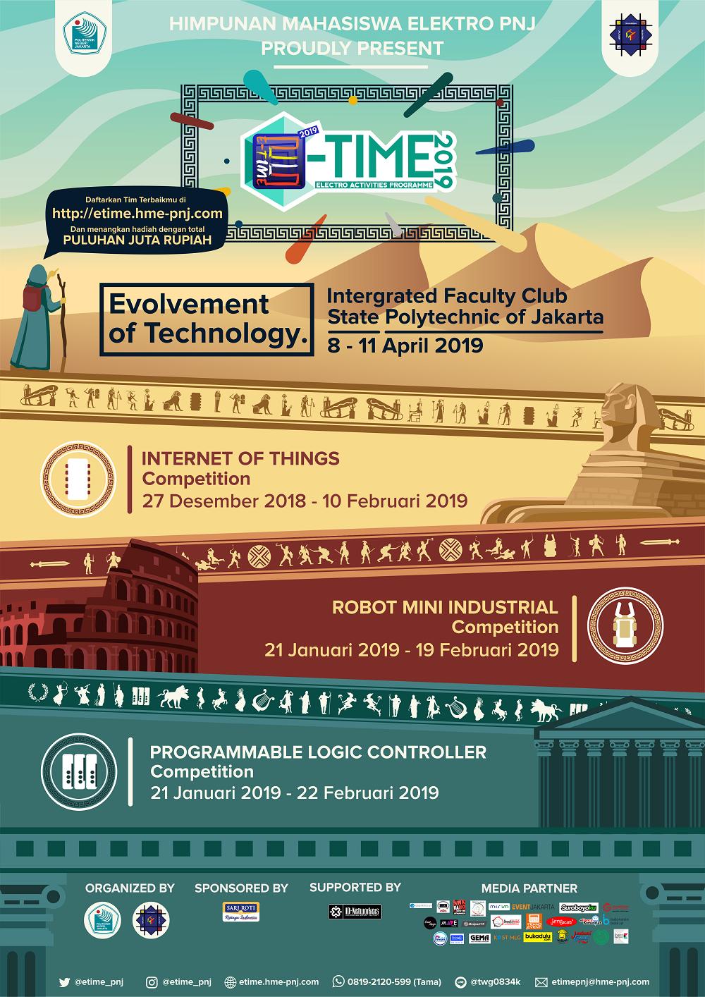 Poster E-TIME 2019 (Update 5 Februari 2019)