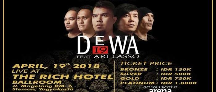Dewa 19  Feat Ari Lasso Plawangan Community Pressent
