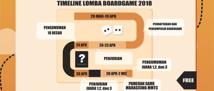 LOMBA BOARDGAME GTX 2018