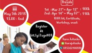 Permalink to TOEFL PBT and Wokrshop by International Community
