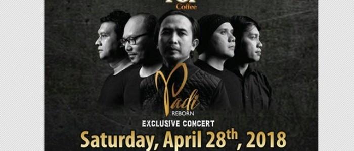 Konser Padi Reborn Eksklusif di Taman Budaya Yogyakarta , 28 April
