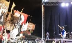 Permalink to Kericuhan dan Kibaran Bendera Hentikan Konser Slank