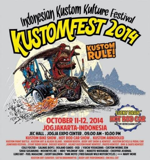 Permalink to Kustomfest 2014 di Yogyakarta