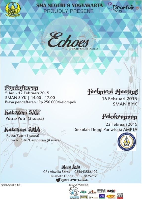 Permalink to ECHOES(EIGHT CHOIR CONTEST)