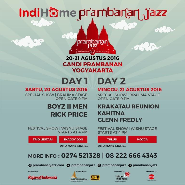 Permalink to Prambanan Jazz International Music Festival