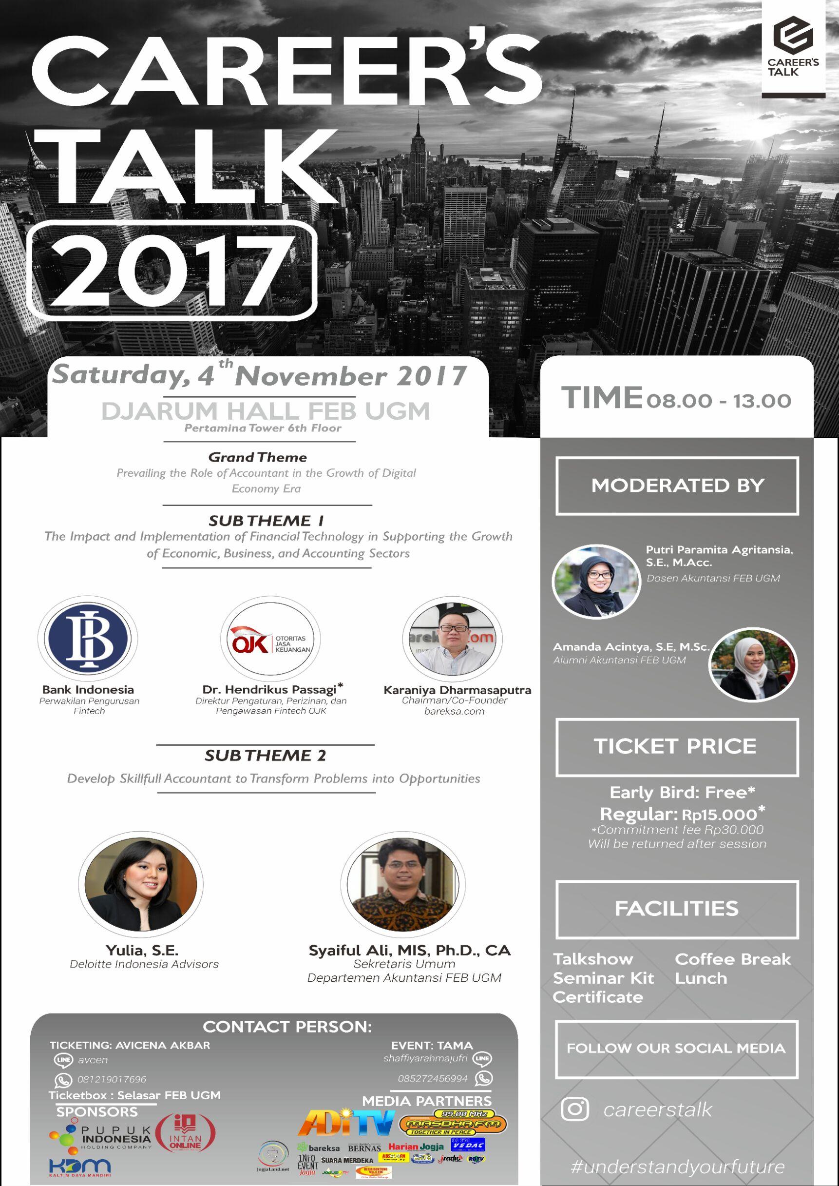 Permalink to Career's Talk 2017