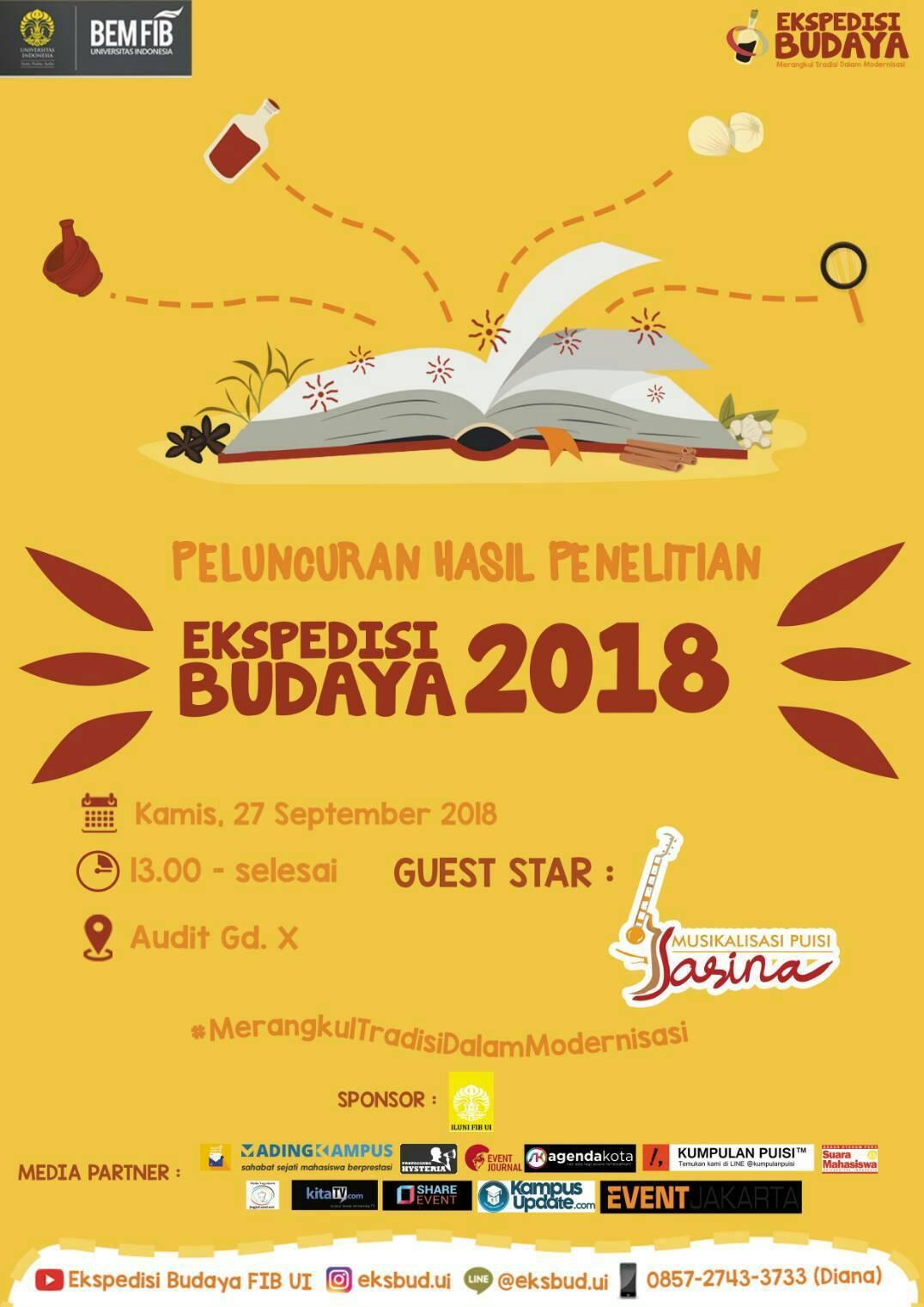 Permalink to Grand Lauching Ekspedisi Budaya 2018