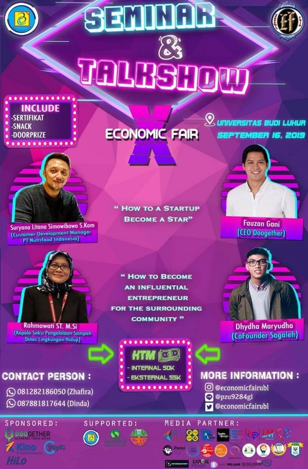 "Permalink to ""Seminar Nasional and Talkshow Interactive"", How to A Startup Become A Star"