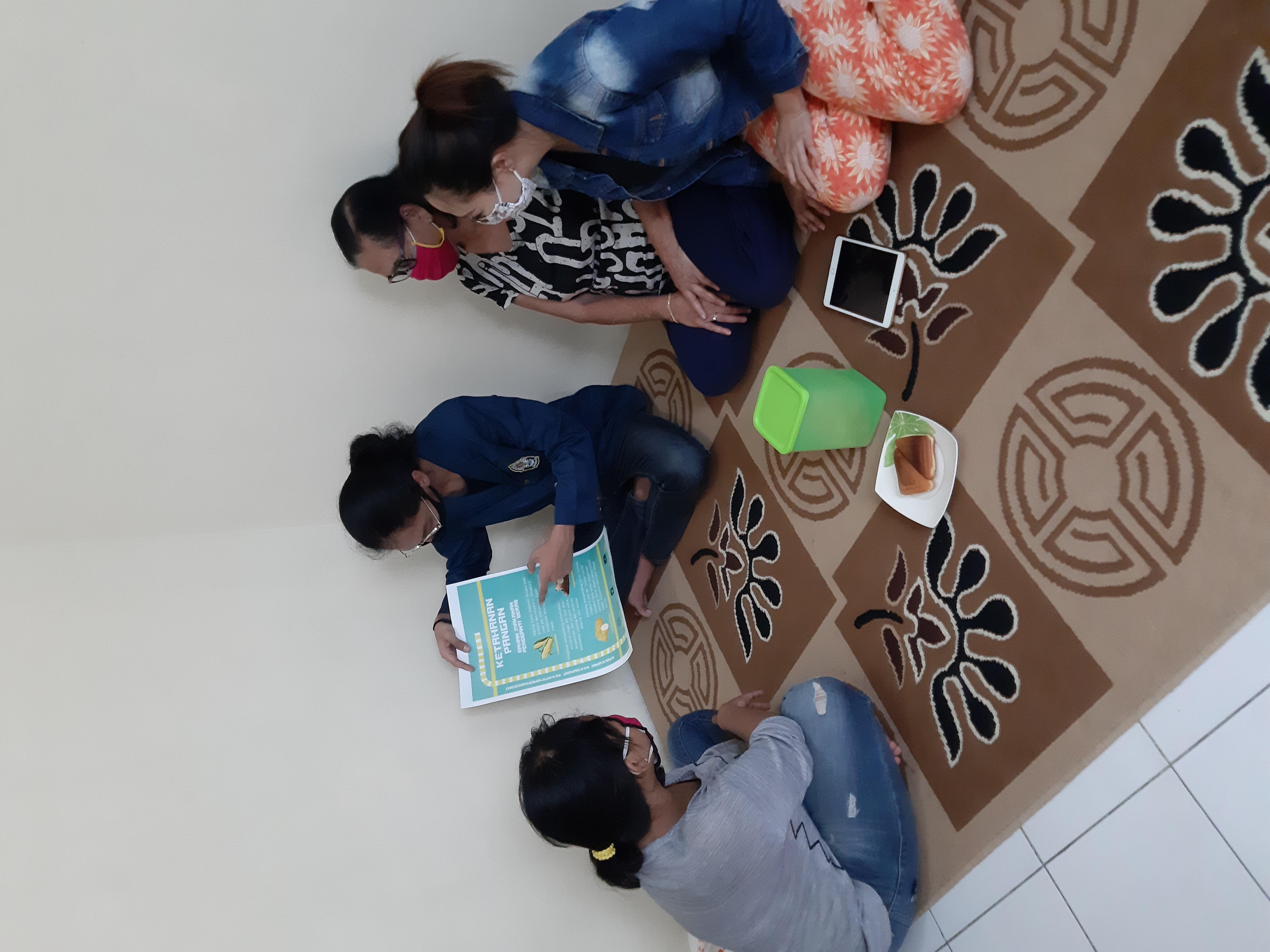 KKN di Masa Pandemi, Mahasiswa Agribisnis Universitas Diponegoro Lakukan Program Pemberdayaan di Desanya