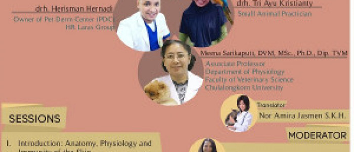 "SEMINAR NASIONAL 2019 ""Pet Animal Dermatology : Cases and Treatment"""