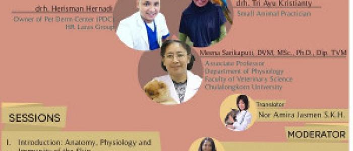 "SEMINAR NASIONAL 2019 ""Pet Animal Dermatology : Cases and Treatment"""