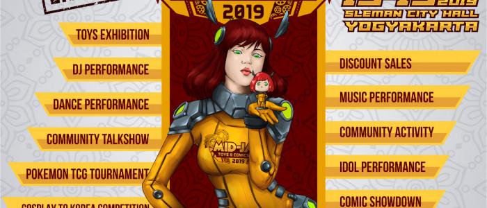 MID   JAVA   TOYS   &   COMICS   FESTIVAL   2019