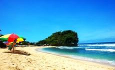 Permalink to Eksotisme Pasir Putih di Pantai Indrayanti Gunung Kidul