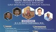 """Permalink to Seminar Nasional : Menuju Indonesia Mandiri: """"Peran Strategis Bendungan Guna Mendukung Pembangunan Nasional"""""""