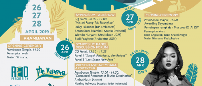 UGM's most anticipated architecture exhibithion has returned!
