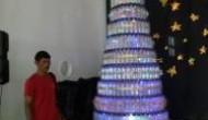 Permalink to Gereja Ganjuran Membuat Pohon Natal dari Botol Bekas
